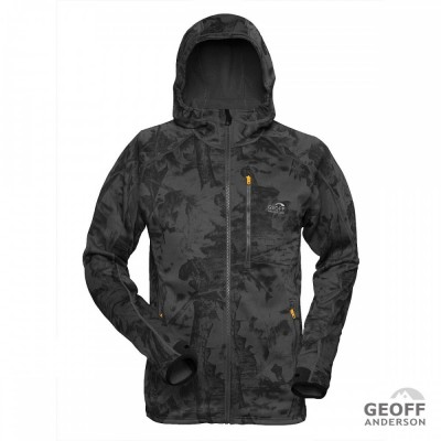 GEOFF Anderson Power Hoodie 3 black / leaf